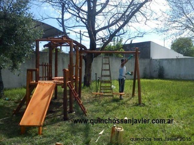 Mangrullo Infantil Juegos De Plaza Para Ninos Quinchos San Javier