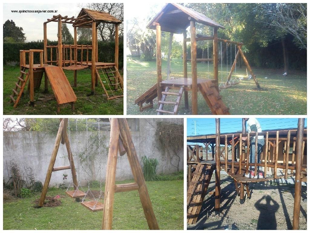 Mangrullo infantil juegos de plaza para niños - Quinchos San Javier